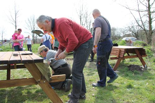 Fleißige Helfer sind jedes Jahr im April dabei