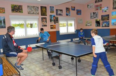 Tischtennis im Club
