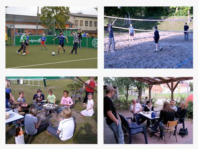 Jugendfreizeotzentrum Aktivitäten draussen