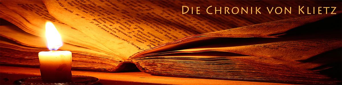 Die Chronik von Klietz und Ihre Chronisten