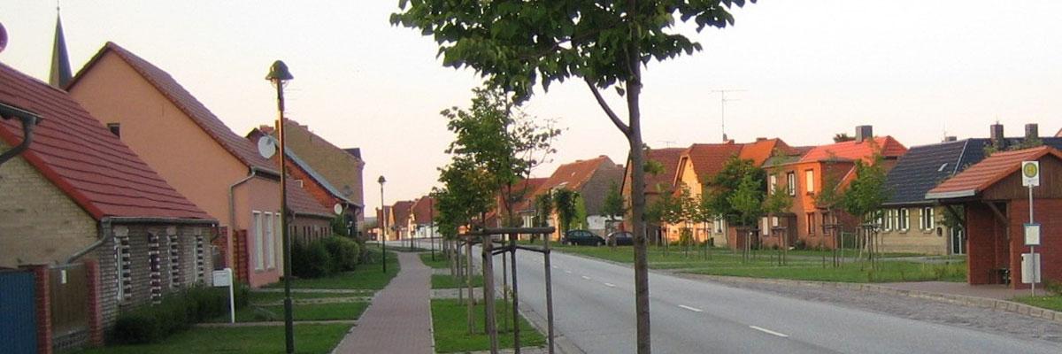 Scharlibbe - Blick in den Ort