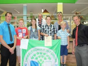 TITEL VERTEIDIGT Klietz bleibt Umweltschule
