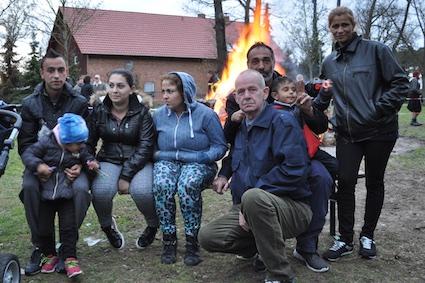14 Auch Gäste aus dem Flüchtlingscamp waren bei der Feier