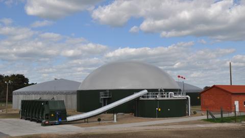 Biogas Vorank