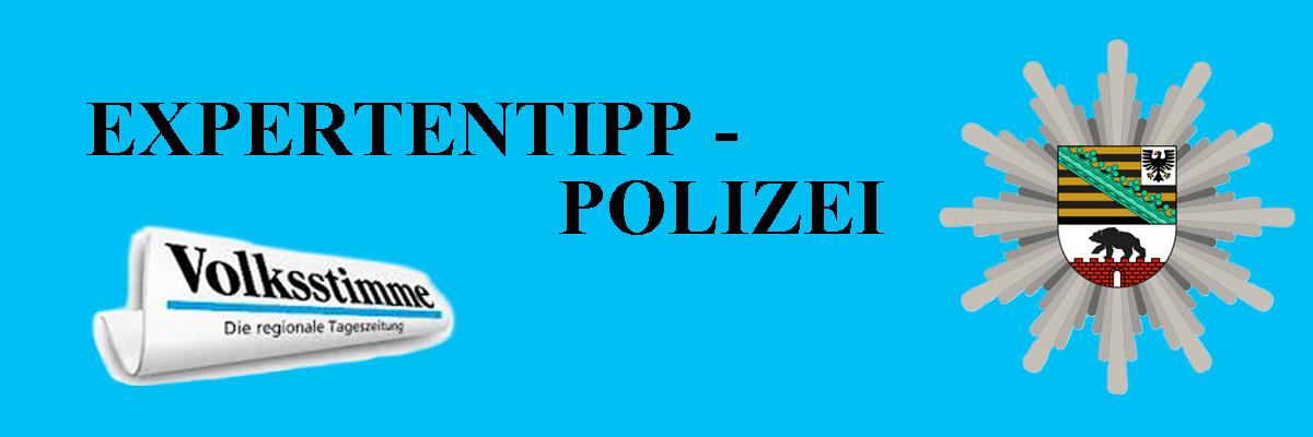 Expertentipp Polizei